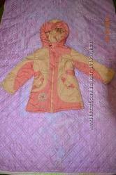 Оригинальная курточка-пальто для малышки