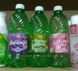 Царство ароматов Натуральная ароматическая вода Роза Лаванда Чайное дерево