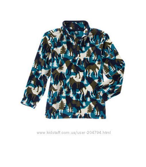 Пуловеры флисовые для мальчиков Gymboree, в наличии