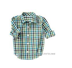 Рубашки для мальчиков, Gymboree, Джени и Джек, оригинал. в наличии