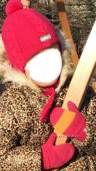 Зимн. Комплект Reima. Шапка и рукавички, 2-4 года