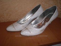 свадебные туфли б. у