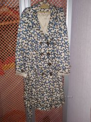 осенние кожанная куртка, плащ, пиджак размеры  S-L