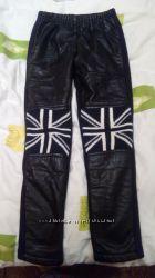утепленные брюки лосины