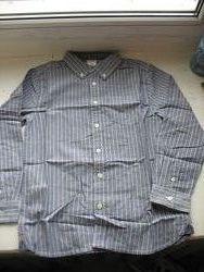 Продам рубашку Gymboree, серая 106