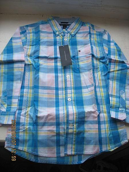 Продам рубашку Tommy Hilfiger 104