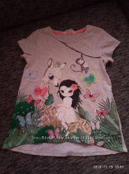 Очень красивая футболка h&65286m на 8-10 лет