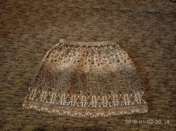 супер красивая юбочка zara на 7-8 лет