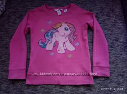Очень красивый реглан с пони h&65286m my little pony на 5-6 лет, можно больше