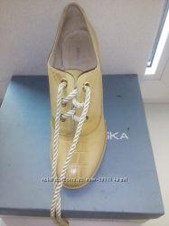 Ботинки кожа осень