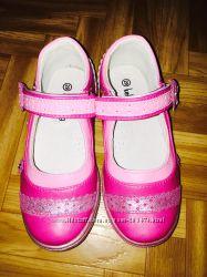 Красивые туфельки для девочки  ТМ Kellaifeng  29р новые