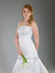 Свадебное платье с вышивкой. Распродажа в связи с закрытием
