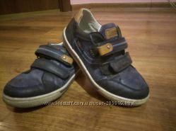 Стильные мокасины туфли на липучках Clibee для мальчика
