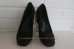 Замшевые туфли Obsel