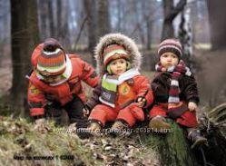 Зимний раздельный комбинезон wojcik Войчик на 1, 5-2 года с шапкой и шарфом