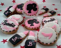 Пряники Барби для стильных девочек