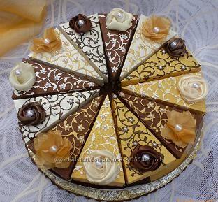 Бумажный торт на любой праздник