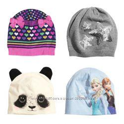 Красивейшие шапочки H&M для наших девочек