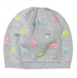 Демисезонные шапочки с пайетками от H&M