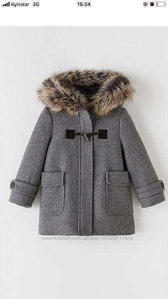 Пальто ZARA розмір  152см зара