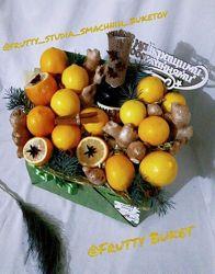 Сьедобные букеты вкусные и полезные - на любой праздник