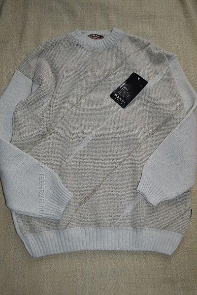Новый свитер шерсть смешанный состав