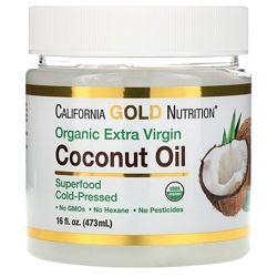Органическое нерафинированное кокосовое масло 273мл