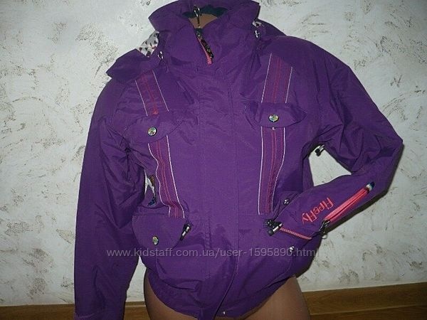 Куртка лыжная 140р. 10 лет фиолетовая