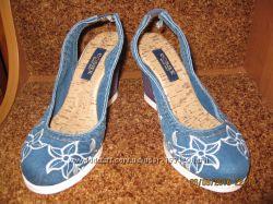 Туфли джинсовые Ersaх Турция