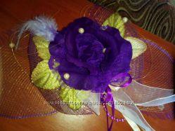 Бант для упаковки подарка роза
