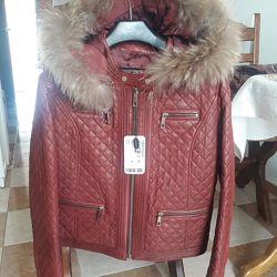 Стильная кожаная куртка Турция Derimod S.