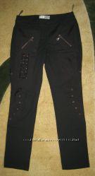 Теплые брюки, ткань внутри с начесом Размер М