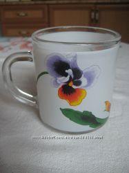 Чашки чайные. В наличии разные цвета.
