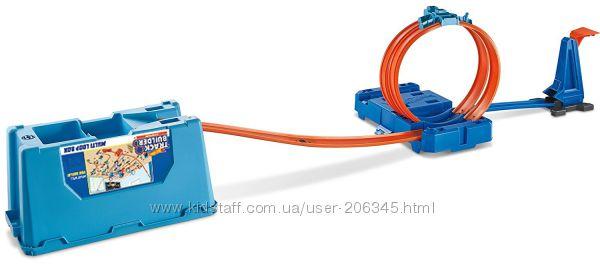 Трек Hot Wheels Track Builder Multi-Loop Box Петля 3 в 1 от Маттел, США