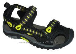 Распродажа Летние сандалии с прорезиненным носком 27-32р. Pidilidi черные