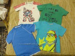 наши фирменные футболки 3-5 лет