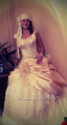 СрочноОбалденный свадебный наряд