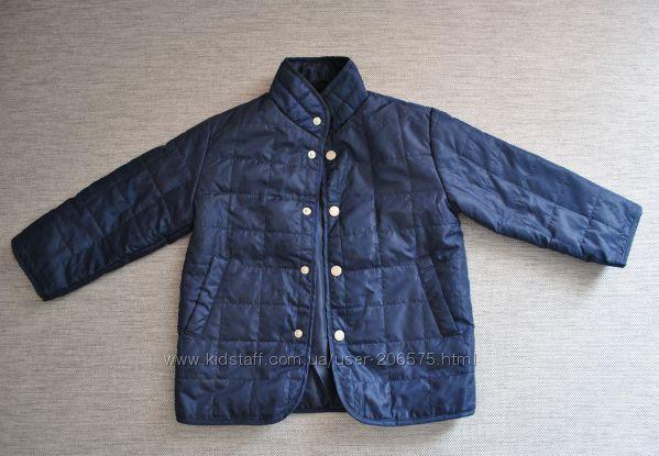 Куртка на легком синтепоне. Размер 3, рост от 98 см