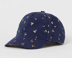 Стильные кепки бейсболки H&M девочкам 4-8 и 8-12 лет