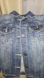 Джинсовый пиджак 134 р