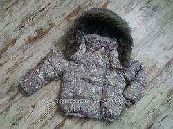 Зимняя дутая куртка для девочки, Next, 5y, 110cm