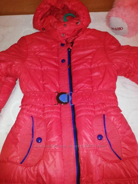 Пальто для девочки NuiVery 40 разм.