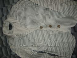 Пиджак в мелкую полосочку