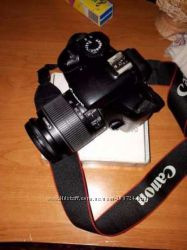 фотоаппарат Canon EOS 1100Dи сумка -чехол