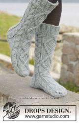 Вязанные носочки. Большой выбор