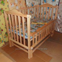 Детская кроватка Карпаты-люкс на шарнирах