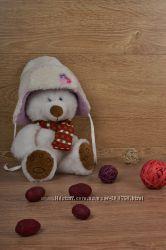 Теплая и мягкая зимняя шапка в ассортименте - велсофт
