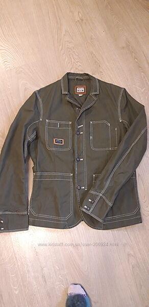 Брендовый пиджак-ветровка Diesel в идеале XL