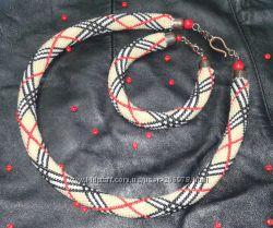 Шикарный подарок на 8 марта, день рождения, юбилей - бисерное колье