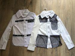 Очень красивые рубашки, блузки  для вашей девочки